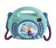 Lexibook RCDK100FZ cd-speler Portable CD player Blauw, Turkoois