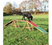 Trixie dog activity agility hondenloop 456x64x30 cm