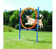 Trixie Dog Activity Agility Ring - Blauw/Oranje - 65 x 3 x 115 cm