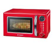 Severin MW7892 Retro Microwave with grill 700W creme/chrome