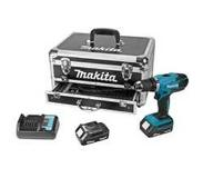 Makita accuschroefboormachine DF457DWEX2 18V met Toolbox