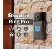 SpotCam Ring Video Camera Doorbell- Wifi Deurbel met 1080P HD Video Camera