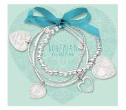 Heart to Get Set Armbanden zilver Hearts BOSET1