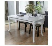 Witte Ronde Hoogglans Eettafel.Mooie Witte Hoogglans Eettafel Meubels