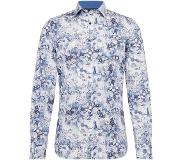 Olymp Overhemd 'Level 5 City Print floral'