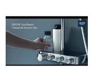 GROHE Euphoria Smartcontrol Douchesysteem 310 Cube Duo Met Thermostaat Moon White