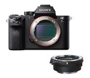 Sony Alpha A7S II systeemcamera Body + Sigma MC-11 adapter