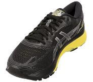 Asics Gel-Nimbus 21 Shoes Men, black/lemon spark 2019 US 12,5 | EU 47 Road hardloopschoenen