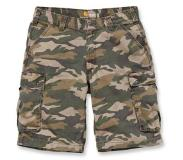 Carhartt Werkshorts Carhartt Men Rugged Cargo Camo Short Rugged Khaki Camo-Maat 38