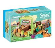 Playmobil Spirit Riding Free Lucky & Spirit met paardenbox 9478
