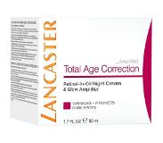 Lancaster Total Age Correction Retinol-in-Oil Night Cream & Glow Amplifier Nachtcrème 50 ml
