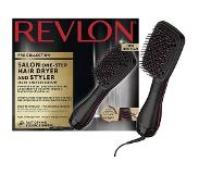 Revlon RVDR5212E Hot air brush Warm Zwart, Roze 800W 2.5m haarstyler