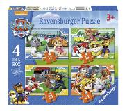 Ravensburger Paw Patrol Puzzel (4 in a box)