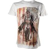"Assassin's creed Assassins's Creed - T-Shirt Wit ""Concept Art"" Maat XL"