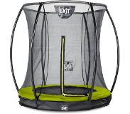 Exit Trampoline EXIT Toys Silhouette Ground 183 Lime Safetynet