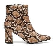 ComeGetFashion Trend Snake Boots (Vrouw, Maat 37, Beige, Pumps)