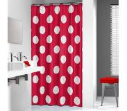 Sealskin Douchegordijn Sealskin Polka Red