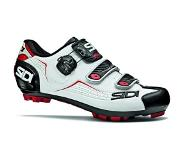 Sidi Mountainbikeschoen Sidi Trace MTB White Black Red-Schoenmaat 43