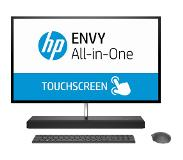 "HP ENVY 27-b220nb 68,6 cm (27"") 2560 x 1440 Pixels Touchscreen 2,40 GHz Intel 8ste generatie Core i7 i7-8700T Zwart, Zilver Alles-in-één-pc"