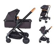 X-adventure Icon Black Combi Kinderwagen (incl. autostoel)
