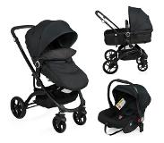 Little World 3-in-1 Kinderwagen City Walker zwart LWST003-BK