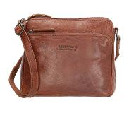 Old West San Antonio crossbody tas S brown