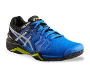 Asics Tennisschoenen voor heren Gel Resolution Speed 7 blauw/zilver multi court