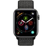Apple Watch Series 4 44mm Space Gray Aluminium/Zwarte Nylon Sportband