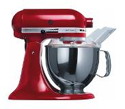 KitchenAid 5KSM150PS Staande mixer Rood 300 W