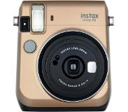 Fujifilm instax mini 70 62 x 46mm Goud instant print camera