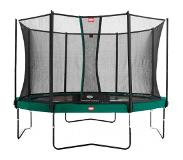 BERG garden trampoline Champion Tattoo incl. safety net Comfort 430 cm