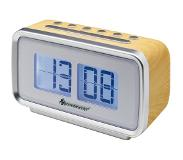 Soundmaster UR105HBR Wekkerradio in retro stijl