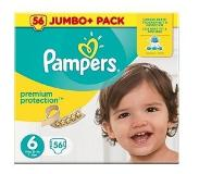 Pampers Premium Protection Maat 6 Luiers