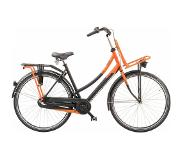 Sparta Pick-Up Trend damesfiets 3 speed Black/Orange-Mat