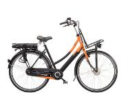 Sparta Pick-Up Trend Ebike dames F7e Smart Zwart/Oranje 7V