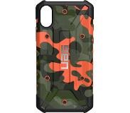 Urban Armor Gear UAG Pathfinder Camo Apple iPhone X Back Cover Oranje