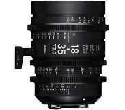 Sigma 18-35mm T2 F/CE Cine High Speed Zoom Line Canon EF Metric