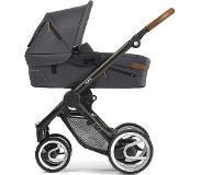 Mutsy Evo Urban Nomad Kinderwagen Dark Grey - Black Brown Frame