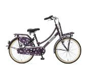 POPAL Daily Dutch Basic+ 22 inch Meisjesfiets Paars