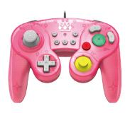 Hori Smash Bros. Gamepad - Peach