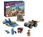 LEGO The Movie 2 Emmets en Benny's bouw- en reparatiewerkplaats - 70821