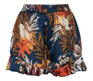 Boohoo Broek 'Tropical Print Elasticated Runner Shorts'