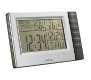 Technoline WS 9121 digitale weerstation Aluminium, Zwart