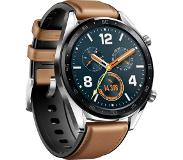 "Huawei WATCH GT-B19V Classic smartwatch Zwart, Roestvrijstaal AMOLED 3,53 cm (1.39"") GPS"