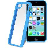 Puro iPhone 5C Clear Cover - Blauw