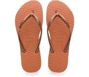 Havaianas Slipper Havaianas Slim Logo Orange Cyber-Schoenmaat 35 - 36