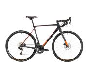 Cube Cross Race C:62 Pro 2019 - 50 cm - Grey Red