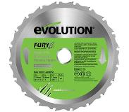Evolution Multifunctionele Tct Zaagblad Fury210 210mm
