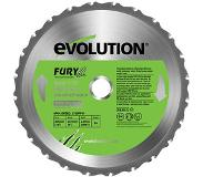 Evolution Multifunctionele Tct Zaagblad Fury255 255mm