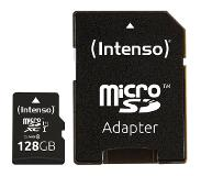 Intenso Premium MicroSDXC UHS-I 128GB + Adapter